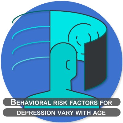 Behavioral risk factors for depression vary with age